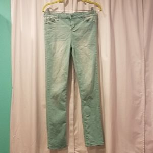 Celebrity pink girls turquoise pants size 16
